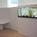aquarium wachtzaal dierenarts